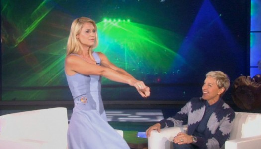 Claire Danes Introduces Ellen to Berghain Techno
