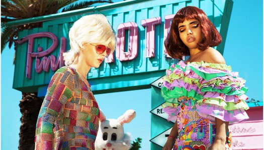 Clio Peppiatt Stuns with Funky SS 15 Collection