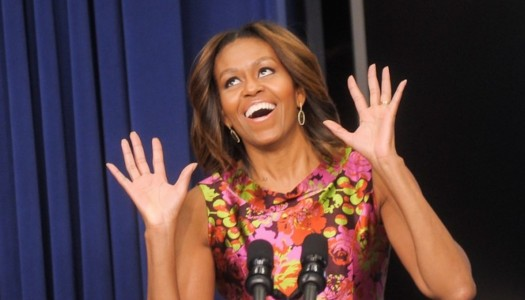 "Michelle Obama Helps Promote New Skrillex & Justin Bieber Track, ""Sorry"""