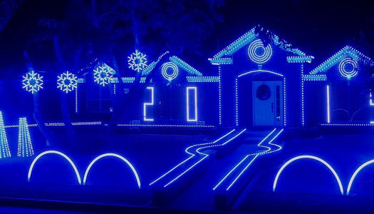 Texas Family Creates Dubstep Christmas Light Show for Charity