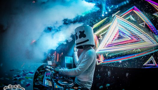 Marshmello Debuts Newest Single at Coachella