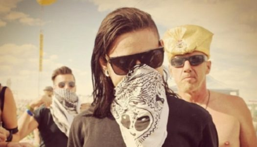 Watch Skrillex Throw Down at Burning Man