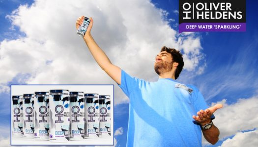 Oliver Heldens Announces New Business Venture, 'Deep Sparkling Water'