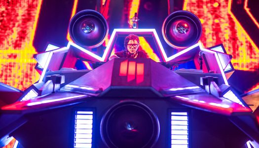 Skrillex's Legendary Mothership Stage Returns After Two Years