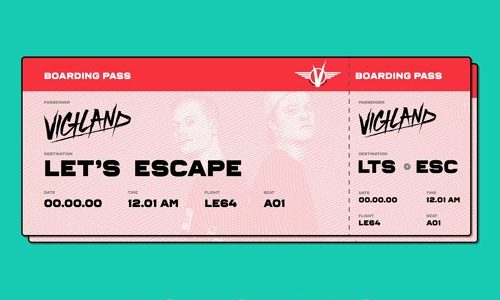"Vigiland – ""Let's Escape"" (Lucky Charmes Remix)"
