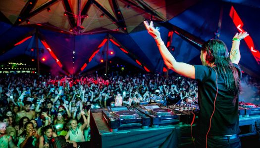 Skrillex Throws Surprise Set at Coachella 2017