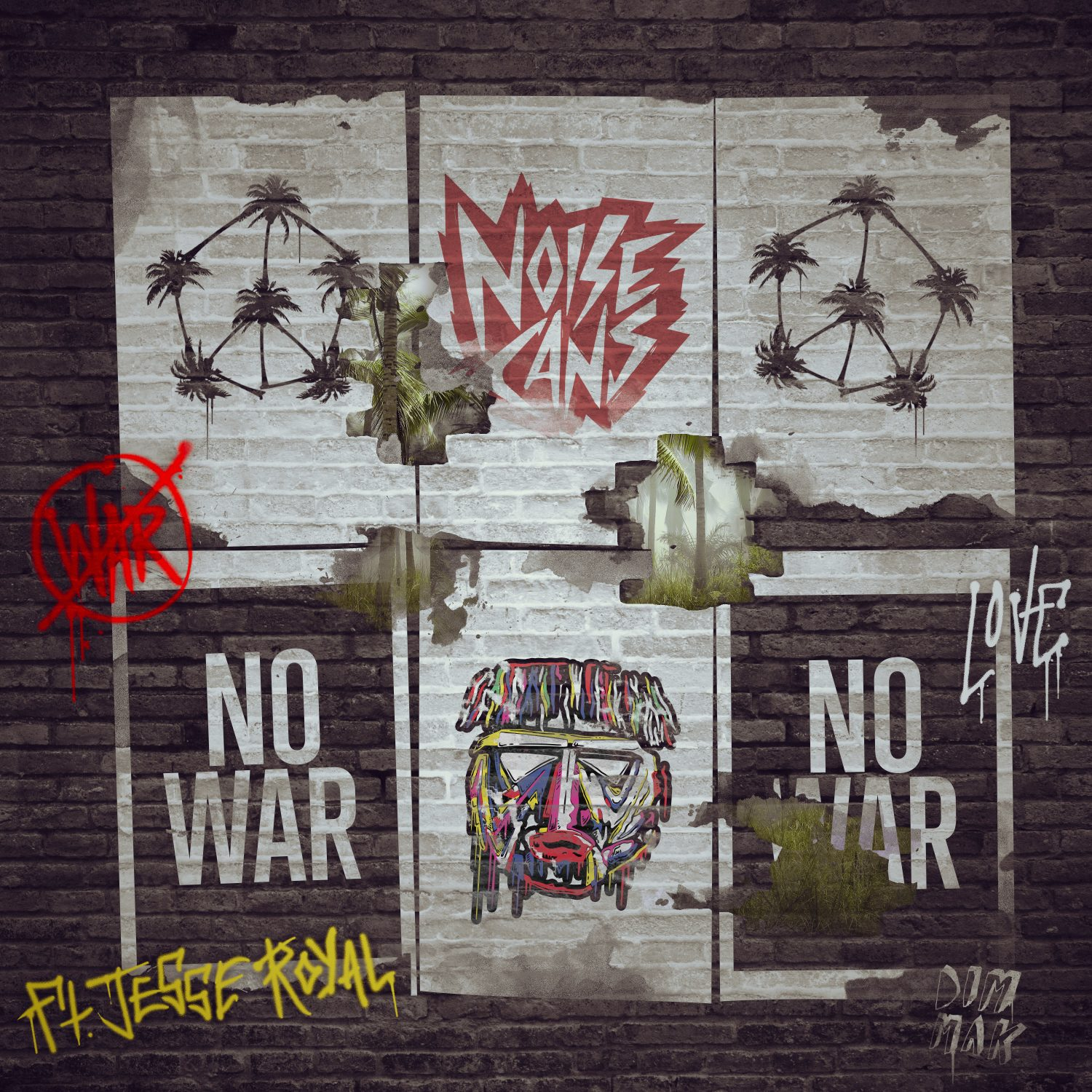 noise-cans-no-war-jesse-royal-dim-mak
