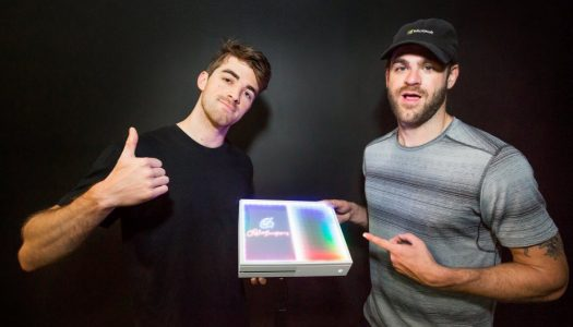 The Chainsmokers Unveil Custom Xbox One S Console (And You Can Win Your Own)