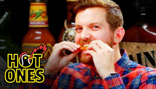 Dillon Francis Takes on the Spicy Wing Challenge on 'First We Feast' [WATCH]