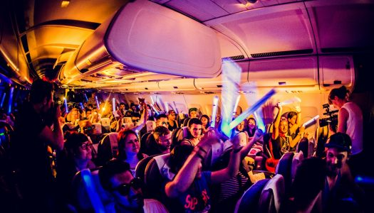 Ganja White Night Onboard Lost Lands Flight That Turns into Mini Festival [VIDEO]