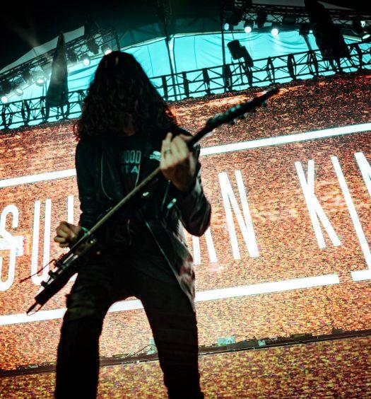 Sullivan King festival guitar visual