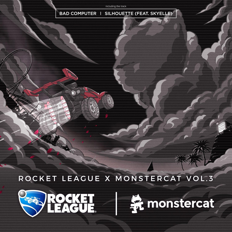 Rocket League Monstercat Vol 3 Bad Computer Silhouette Skyelle