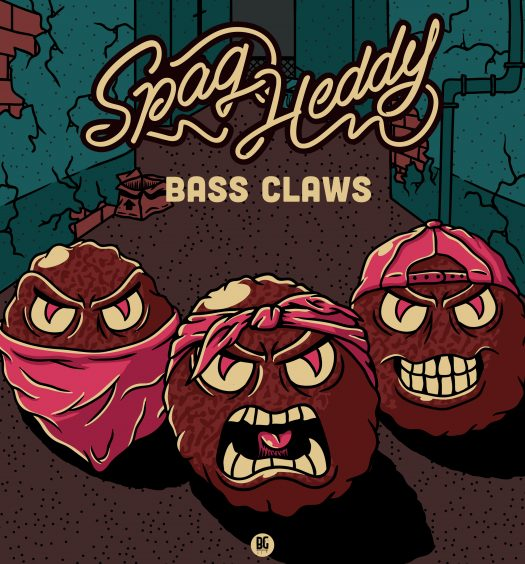 Spag Heddy Bass Claws