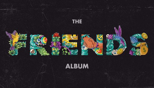 Bear Grillz Releases 'Friends: The Album' ft. Riot Ten, Adventure Club + More